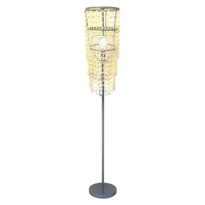 Xhilaration® Chandelier Floor Lamp from Target, 40$. (Clear teardrop ...