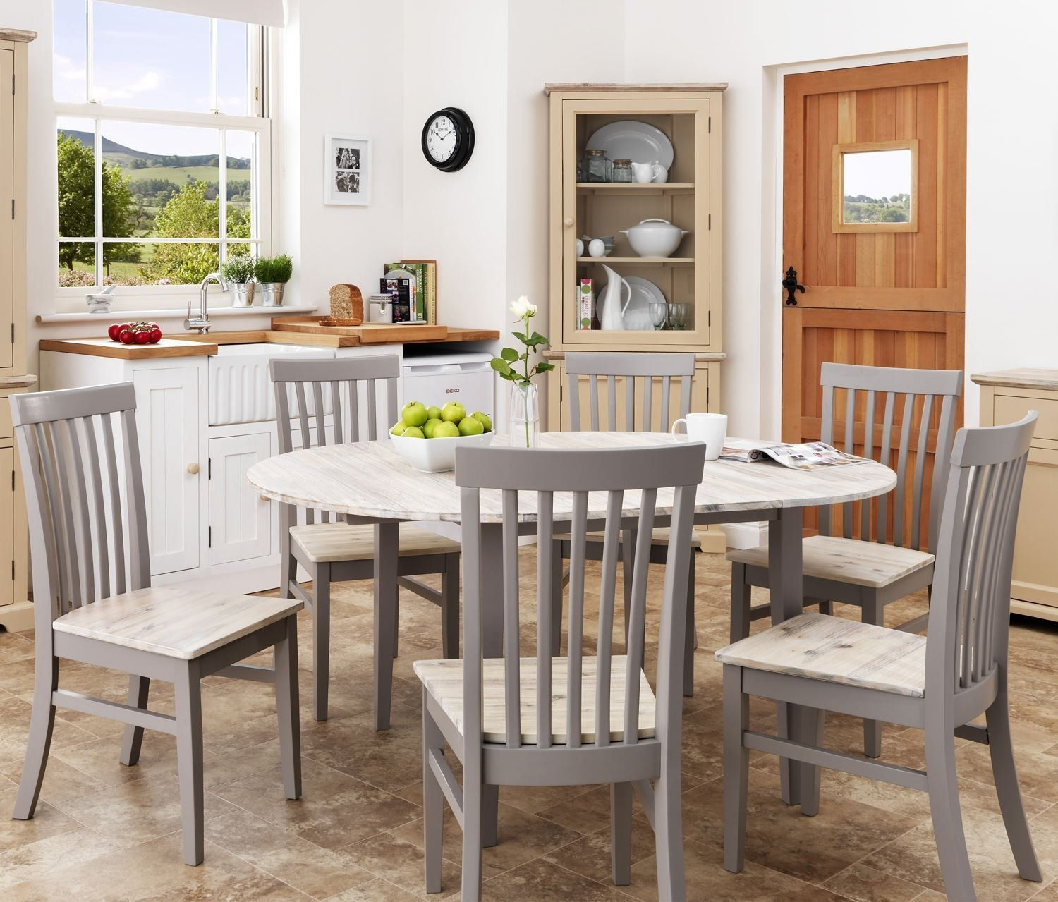 florence large roundoval extending table 115160cm