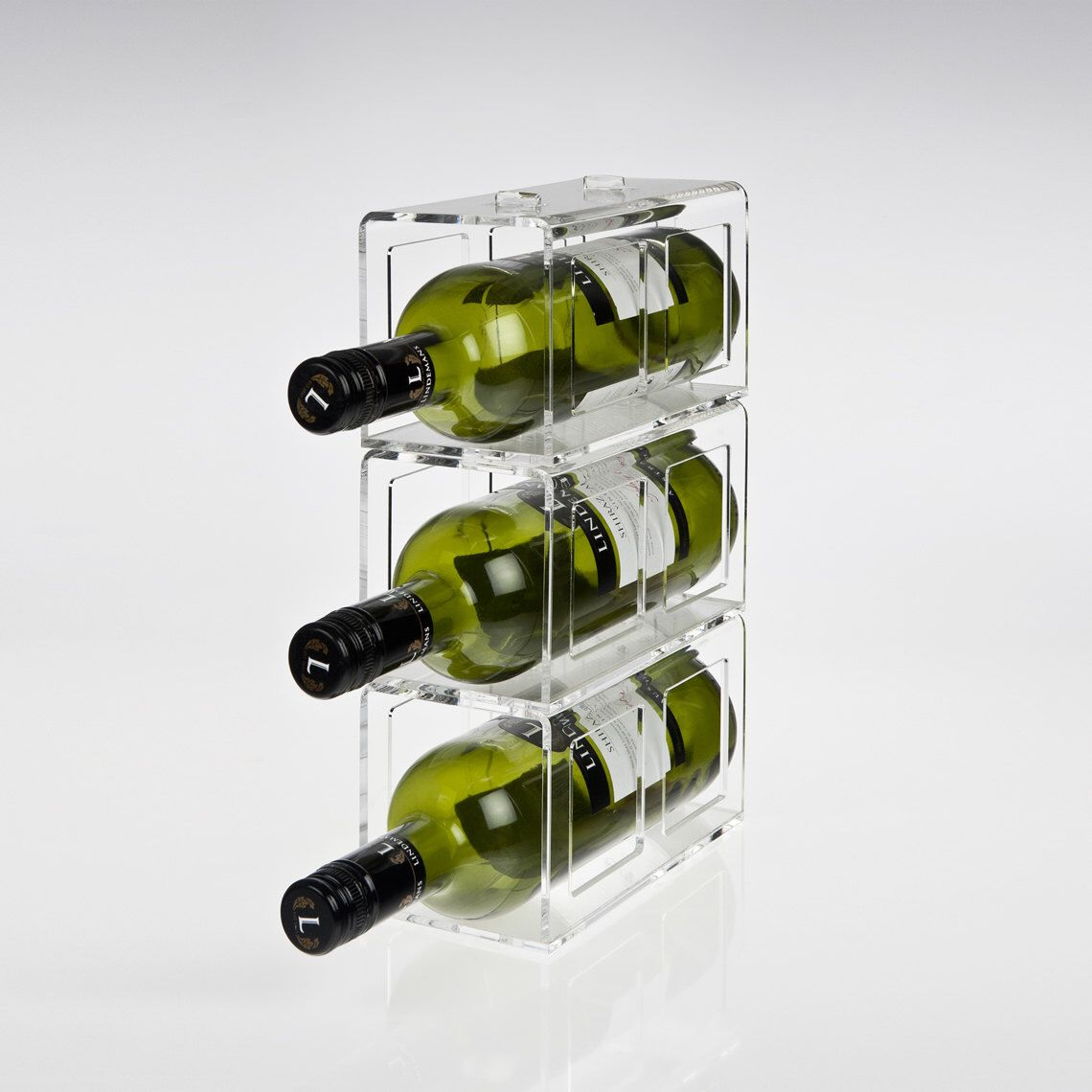 floating rack blue by cellar millesime clear acrylic of blocks example grouse racks racking bottles end wine