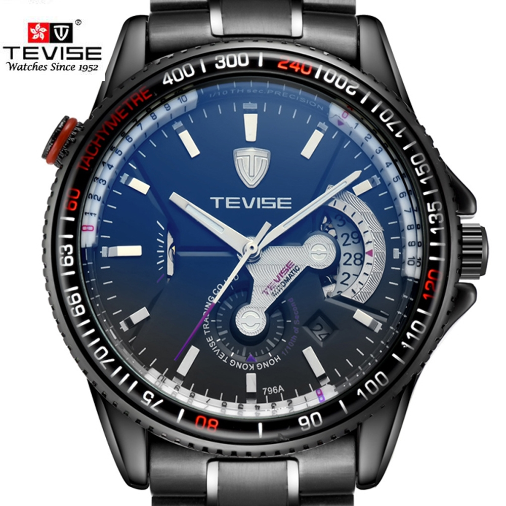 24.99$  Buy now - TEVISE Automatic Watch Mechanical Watches With Automatic Winding Top Brand Luxury Sport Relogio Automatico Masculino Men's watch  #magazineonline