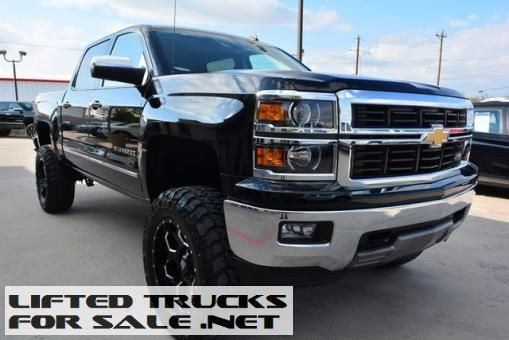 Lifted Trucks Used 2014 Chevy Silverado 1500 Ltz Crew Cab Z71