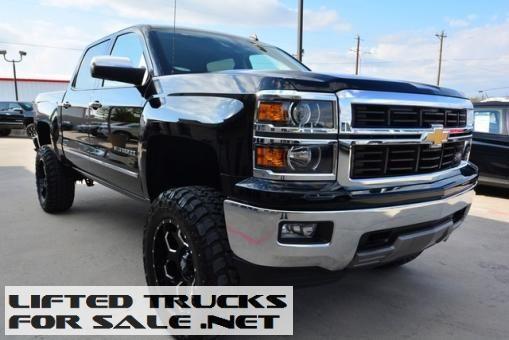 Lifted Trucks Used 2014 Chevy Silverado 1500 Ltz Crew Cab Z71 Lifted