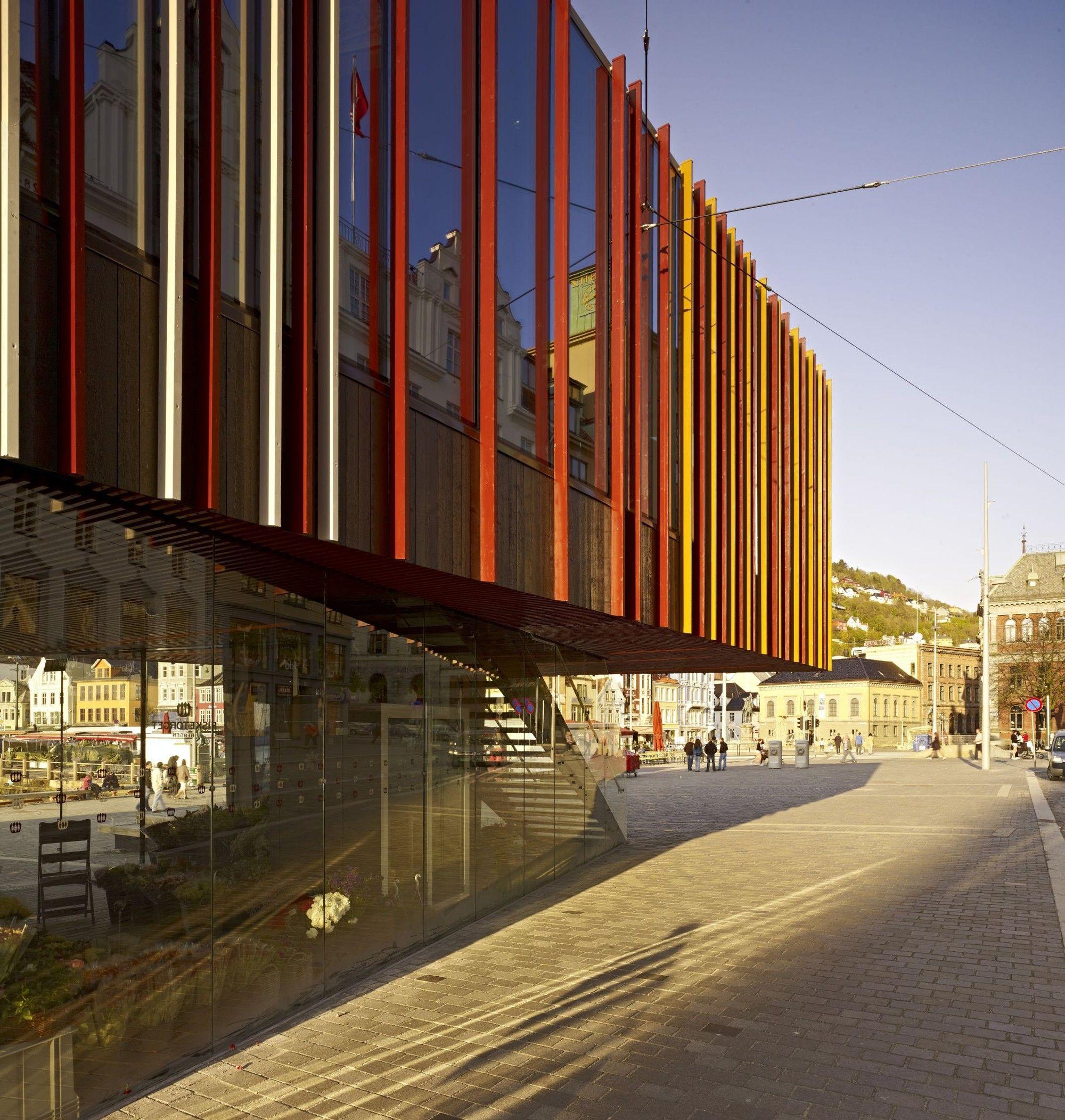 Gallery Of Fish Market In Bergen Eder Biesel Arkitekter 9 Di 2020