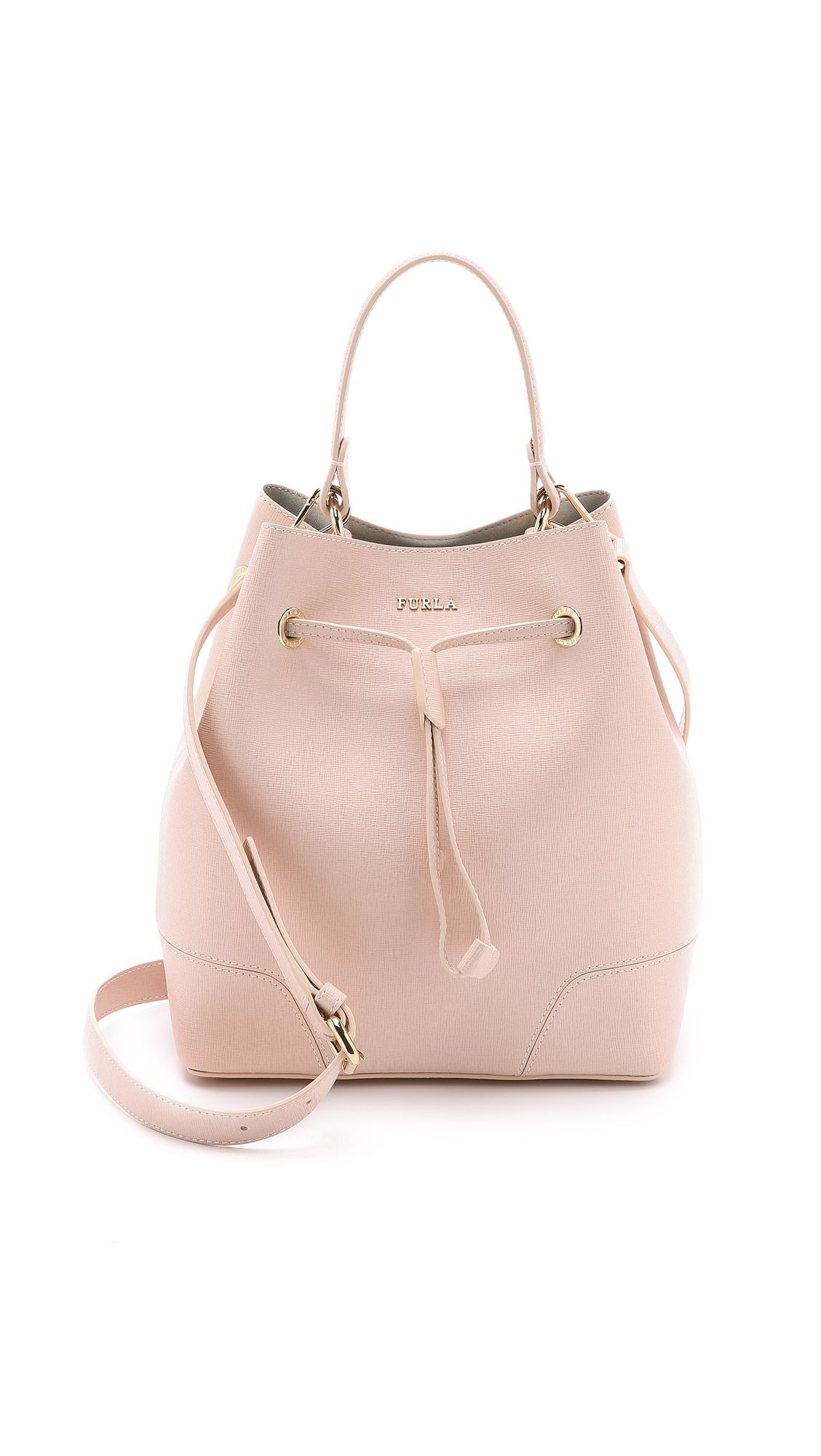 Shoulder Bag for Women On Sale, Hot Coral, Leather, 2017, one size Furla