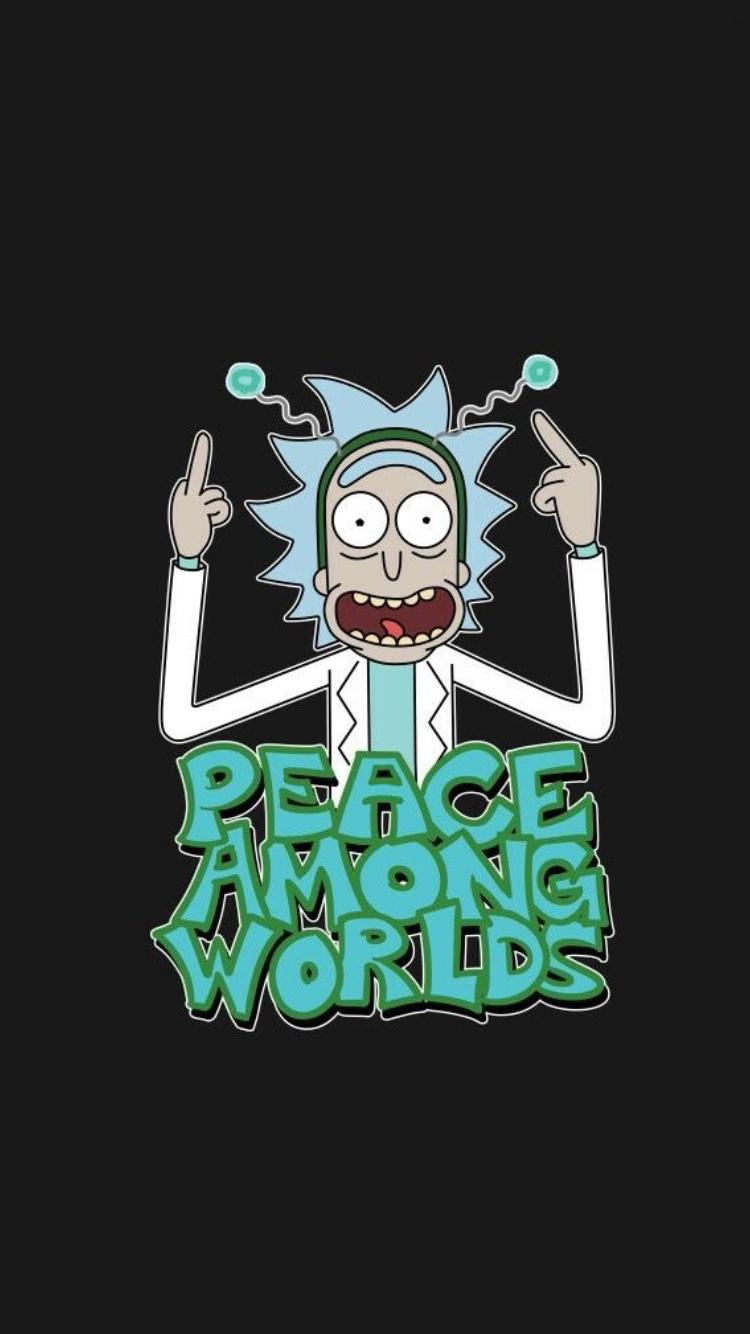 Rick and morty iPhone wallpaper | Rick and Morty | Imagenes comicas, Caricaturas y Pantalla