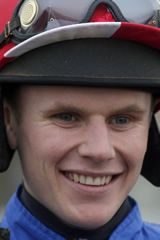 TOM CANNON JOCKEY DETAILS * Age:23 Based:Surrey Licence/Permit Type:Jump Days Since Last Win:3 Lowest Riding Weight:140 SEASON DETAILS * JUMP Wins: 32 Rides: 245 Win to Rides: 13.06% Group & Listed Wins: 0 Prize Money: £254,902.10 FLAT Wins: 0 Rides: 1 Win to Rides: 0% Group & Listed Wins: 0 Prize Money: £0.00
