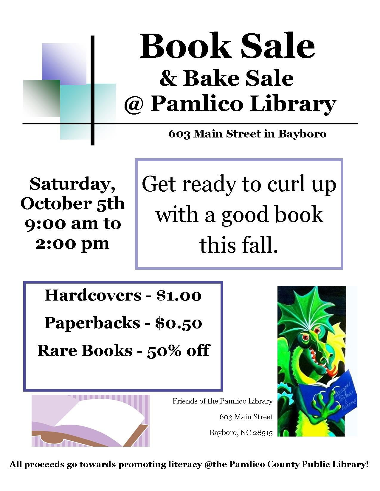 Best book sale in Pamlico County!