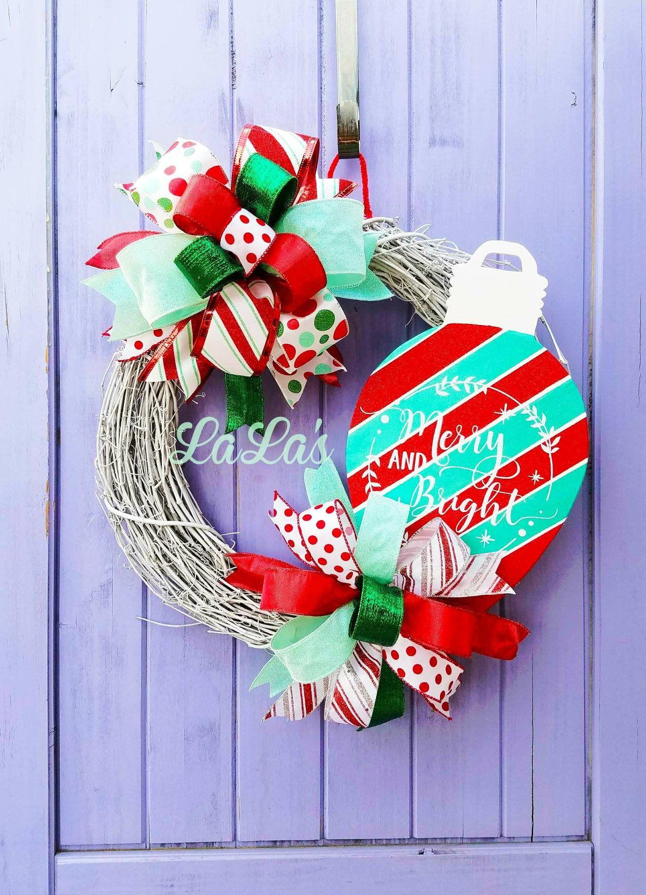 Christmas Front Door Wreath Christmas Wreath For Front Door Red