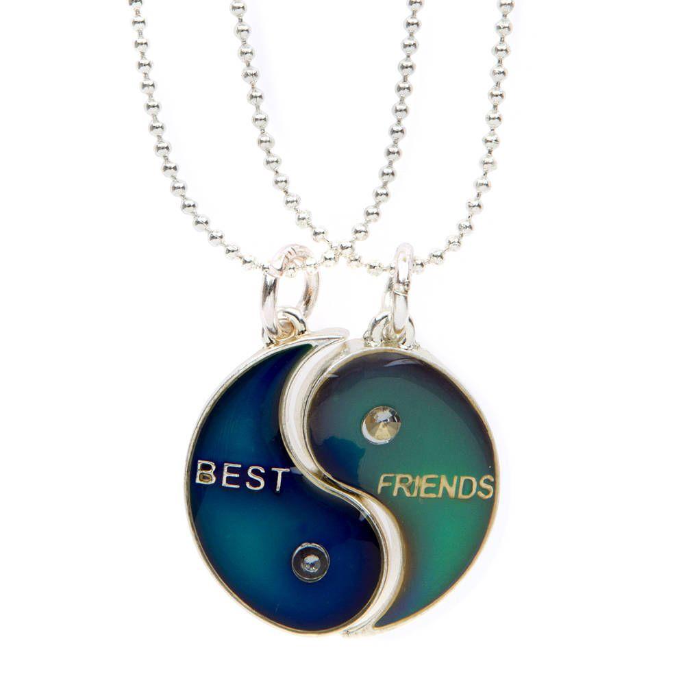 Best Friend Mood Necklace Colors