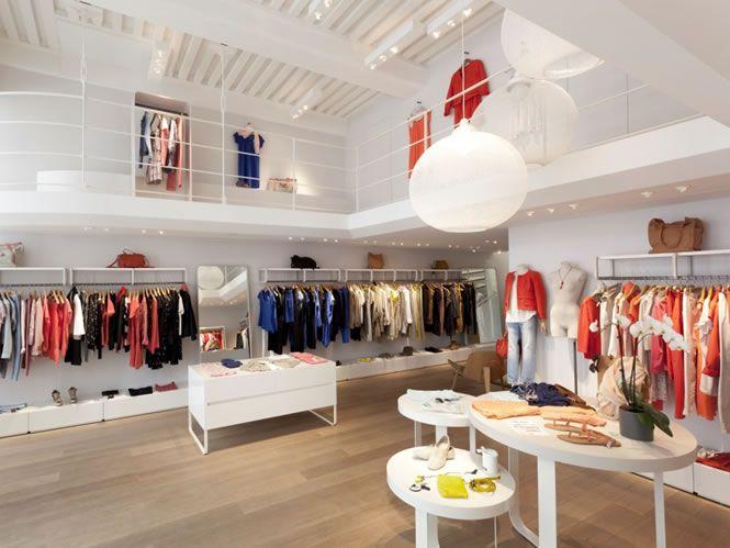 Comptoir des cotonniers mode femme lyon commerces et boutiques design lyon shop design - Comptoir des cotonniers boutique ...