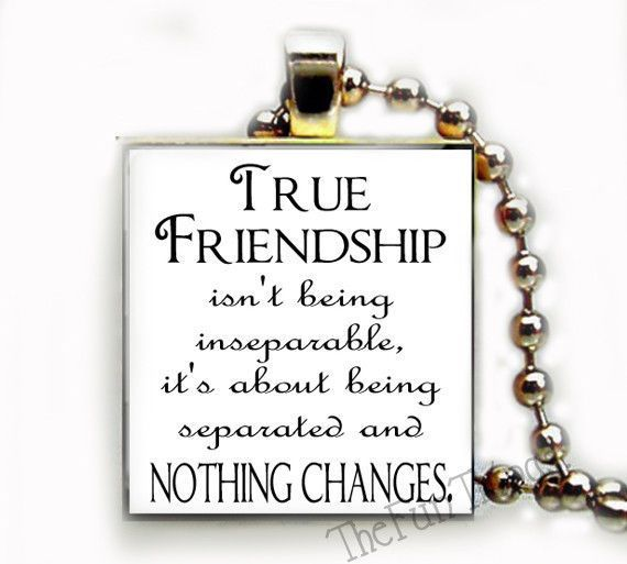 friendship quote recycled scrabble tile pendant jewelry necklace