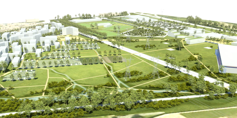 Atelier villes paysages cergy pontoise projet de for Projet architectural definition
