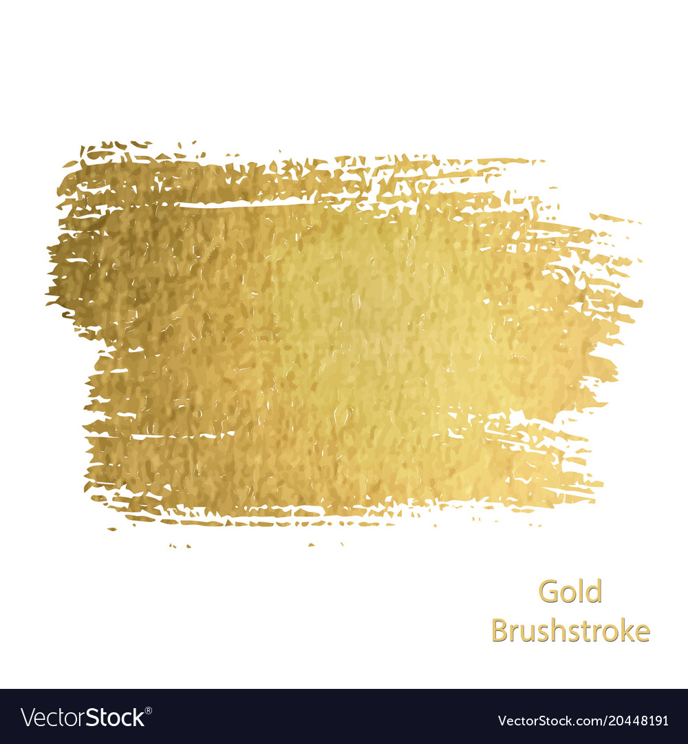Gold Paint Brush Stroke Abstract Gold Glittering Textured Art Gold Paint Gold Paint Colors Brush Stroke Png