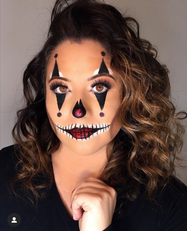 Comment Faire Un Beau Maquillage D Halloween.Epingle Par Nawale M Sur Maquillage Halloween Maquillage Halloween