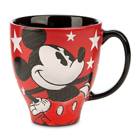 Mickey Mouse Classic Sketch Mug Drinkware Disney Store Disney Mugs Disney Coffee Mugs Mickey Mouse Sketch