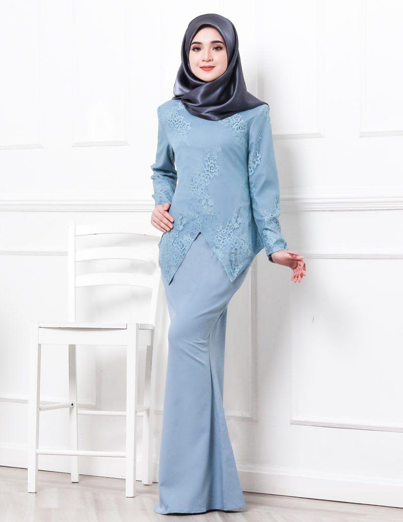 27 Fesyen Baju Kurung Terkini Untuk Raya 2019 Cantik Moden Kebaya Dress Hijab Fashion Baju Kurung