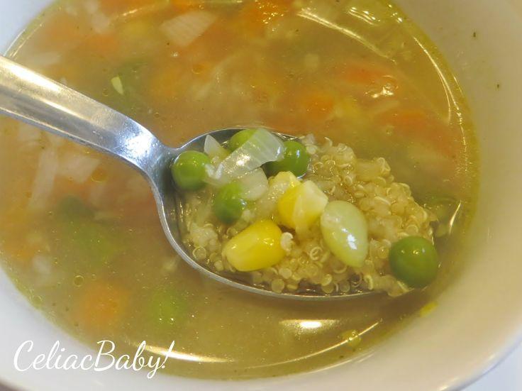 Celiac Baby!: Easy Quinoa Vegetable Soup,  Celiac Baby!: Easy Quinoa Vegetable Soup , Celiac Baby!: