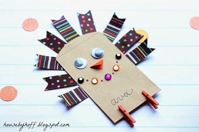 Little Turkey Craft - @Cherilyn Strahan we could do this with Ashlyn