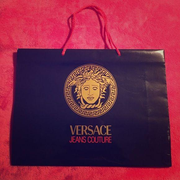 ❤️SALE❤️VERSACE Jeans Couture large shopping bag never used VERSACE Jeans  Couture large shopping bag 16