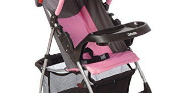 Kolcraft Lite Sport Light Weight Stroller, Carnation