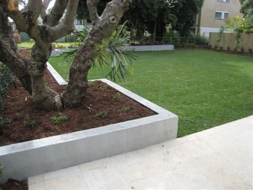 Mosaic Landscapes View Picture Bagged Block Wall Concrete Retaining Walls Pool Landscaping Garden Inspiration