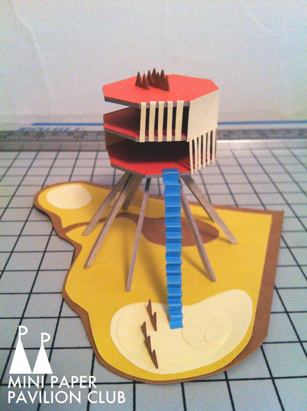 model / paper / architecture / pavilion / miniature ... - photo#20
