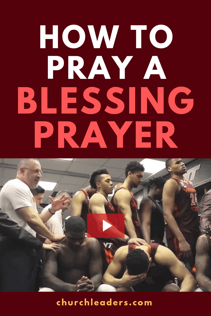 Let This Basketball Coach Teach You How to Pray a Blessing
