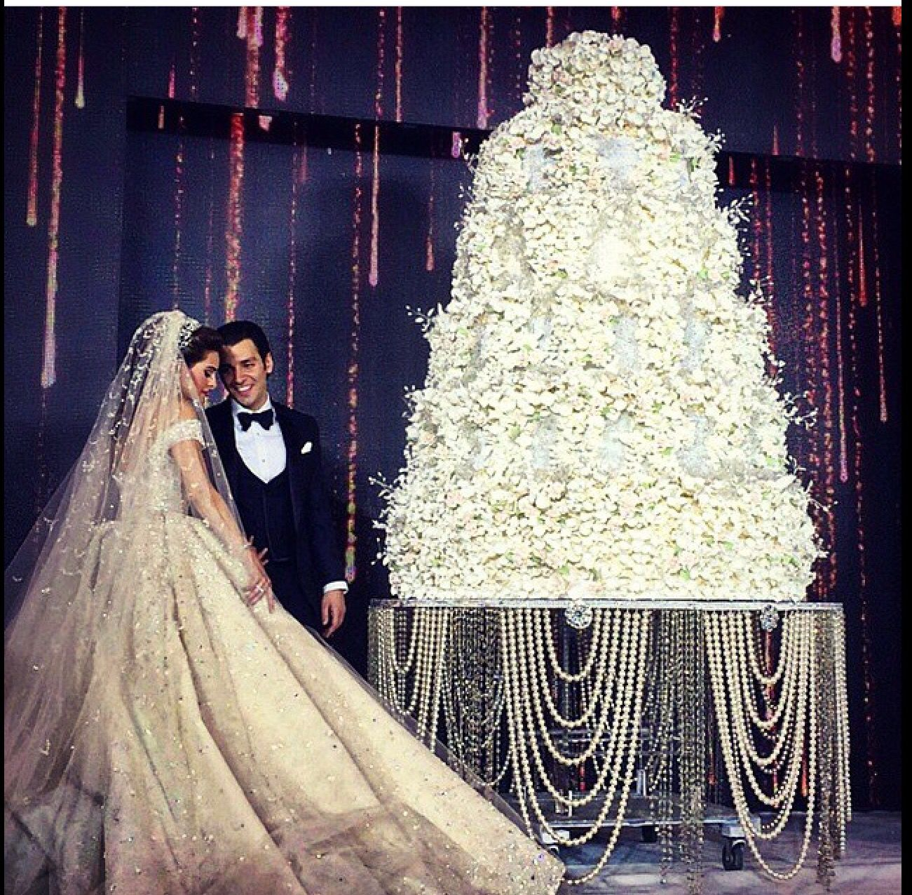 Beautiful Lebanese Wedding Cake | wedding cake ideas in ...