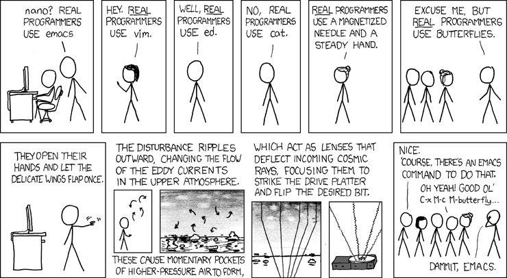 Editor Wars Xkcd Programmer Jokes Programmer Developer Humor