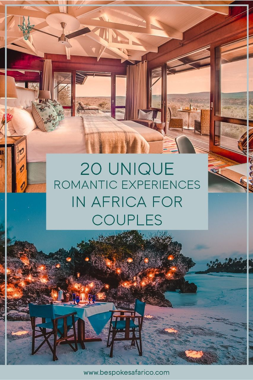 20 Romantic Experiences in Africa for Couples