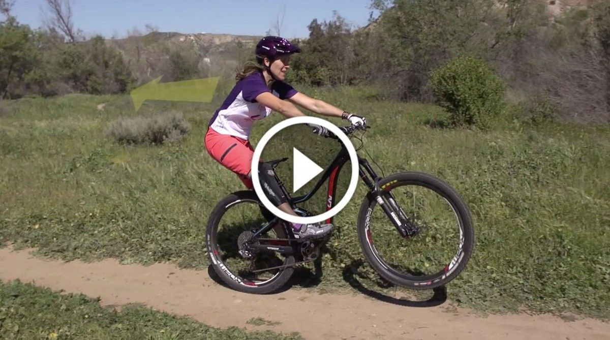 Video Mountain Bike Skills 101 Manual Front Wheel Lift