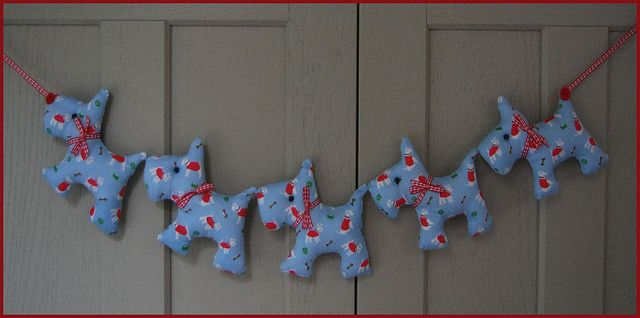 'Cath Kidston' Blue Scotty Dog Garland by clare.gant, via Flickr
