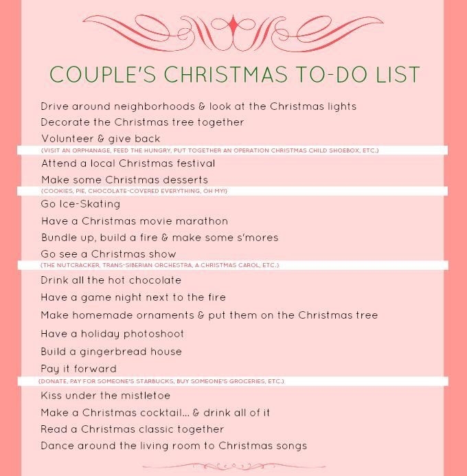 christmas tradition ideas for couples