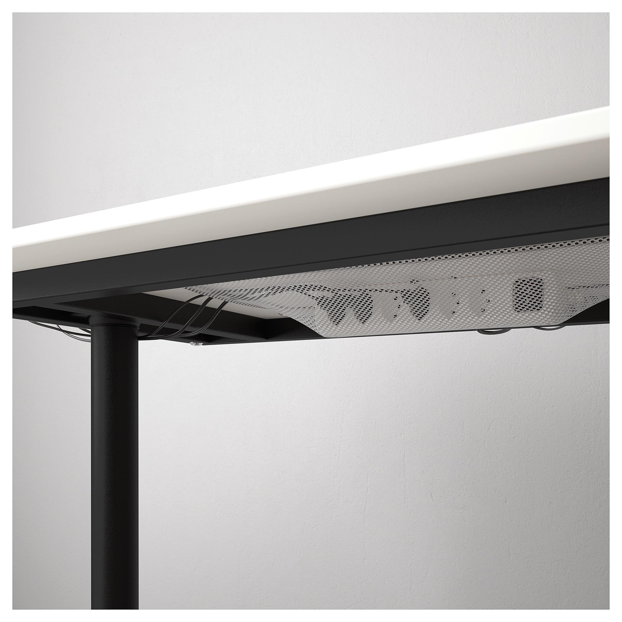 Bekant Ecktisch Rechts Weiss Schwarz Ecktisch Ikea Ecktisch Und Tisch