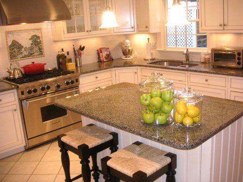 Kitchen Countertops Ideas White Cabinets