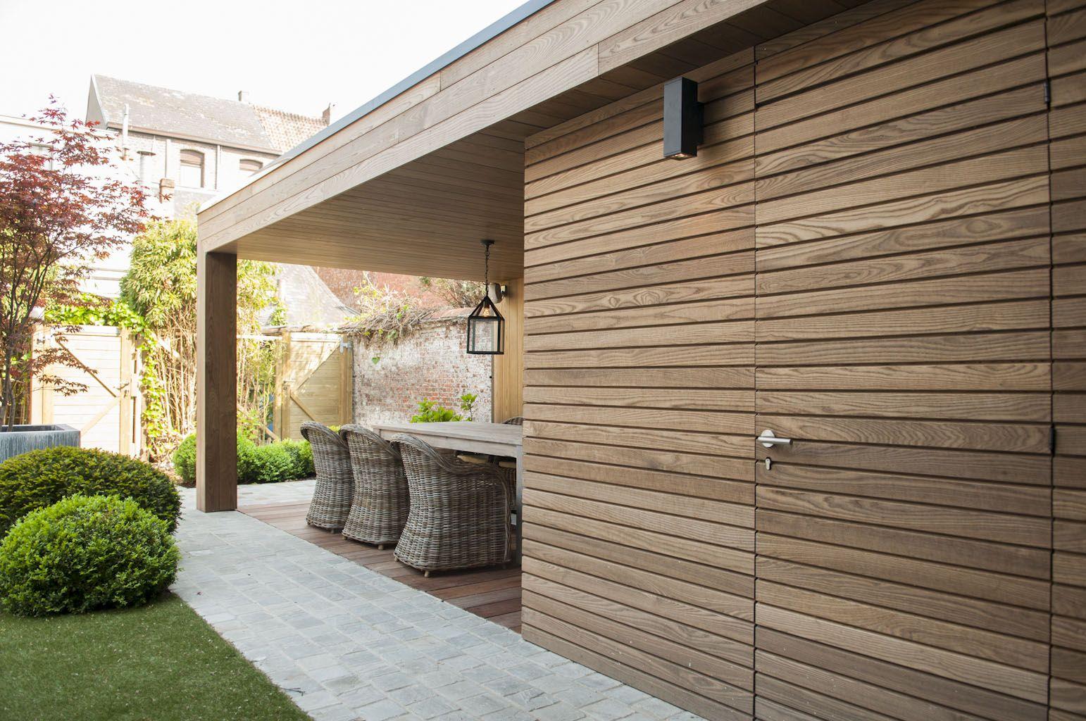 Bowisse introduceert dit jaar een nieuwe lijn moderne bijgebouwen pure strakke terrasoverkappingen