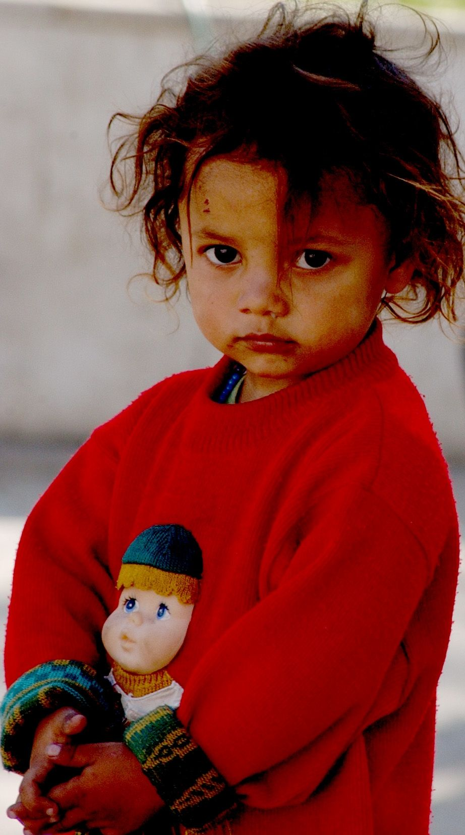 """Roma Baby - Often called """"gypsies"""" Roma people and children are one of the most apposed people group in Europe. I think they are beautiful"""