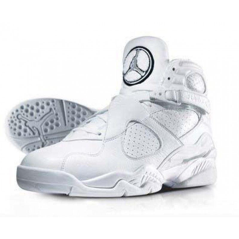white jordan shoes