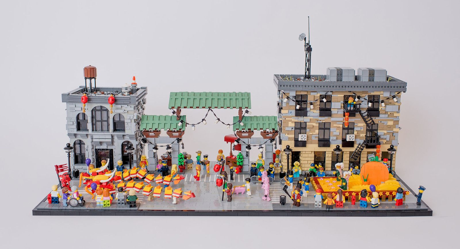 Chinese Lunar New Year San Fransisco Dragon Gate Lego