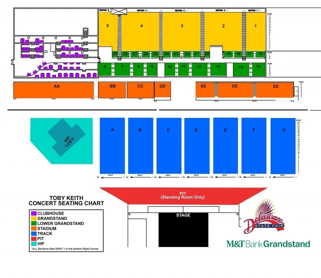 Elegant Along With Gorgeous Allentown Fair Seating Chart