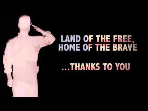 Veterans Advantage Thank the Troops videos