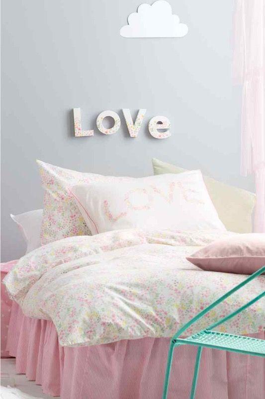 Déco  la tendance pastel pour une chambre d\u0027enfant - deco chambre turquoise gris