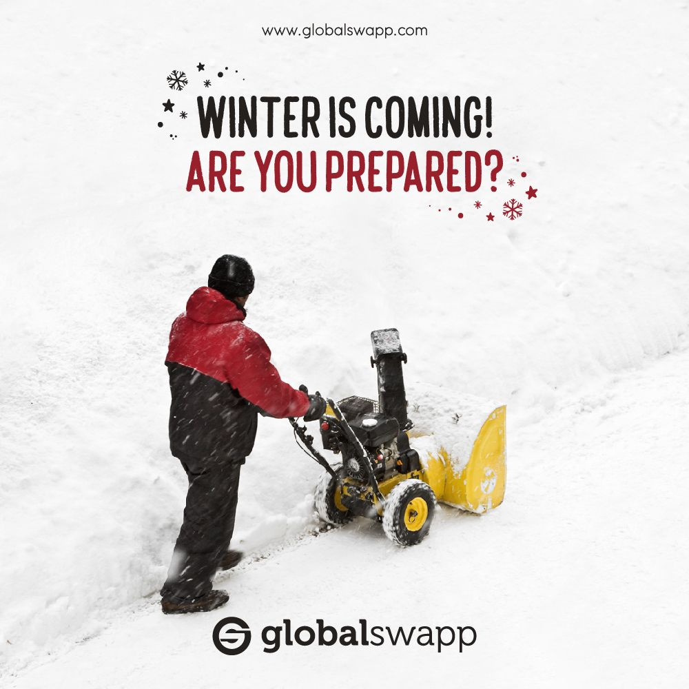 The first flakes are starting to arrive. Don't ruin your back by shovelling through the heaps of snow.. Hire professional snow removal and ice prevention teams without spending a fortune. Head over to GlobalSwapp and get in touch with the best snow removers in your area. Download the app and be prepared for winter! #barter #trade #swap #nomoneyneeded #negotiate #localservices #getitonglobalswapp #barteringisback #winteriscoming #winteriscomingsoon #SnowRemoval #Snowremovalservices
