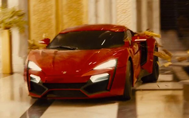 Lykan Hypersport A Guide To The Cars Of Fast And Furious 7 Telegraph