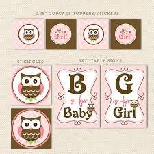 Resultado de imagen para decoration baby shower owl