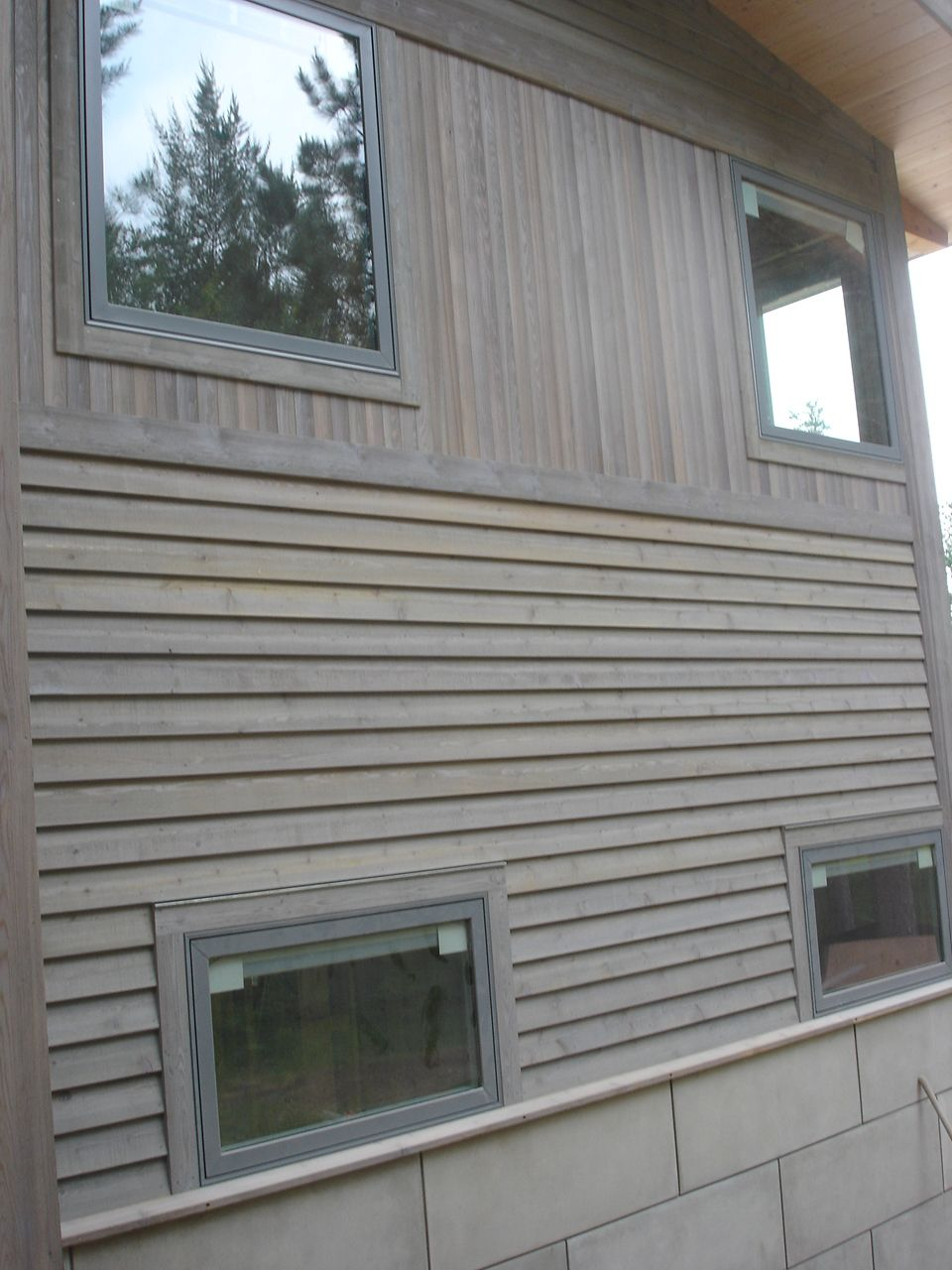 5 4 6 Tight Knot Cedar Rabbeted Bevel Cedar Siding Wood Siding Cedar