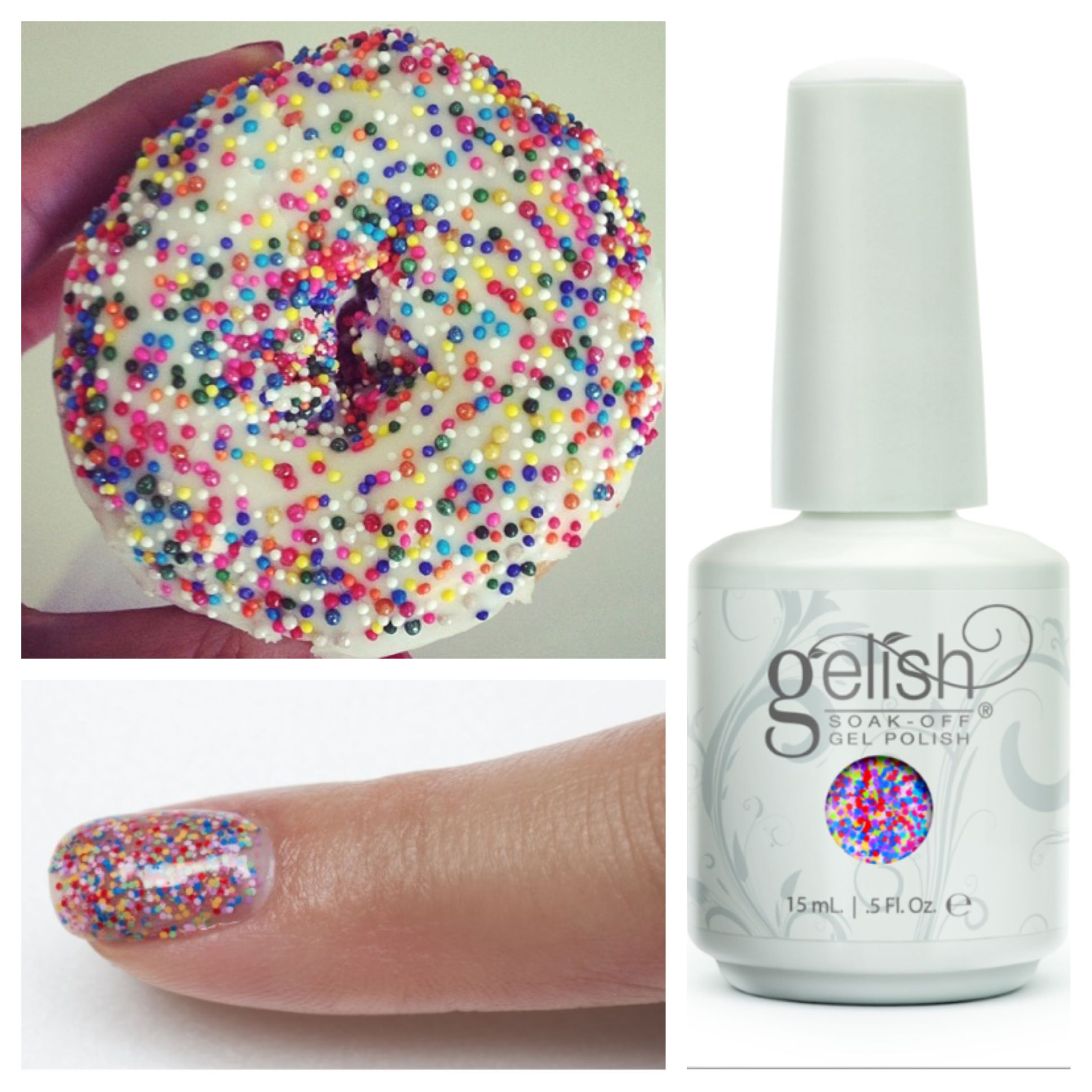 Gel Nail Polish Trends: Gelish Trends - Lots Of Dots