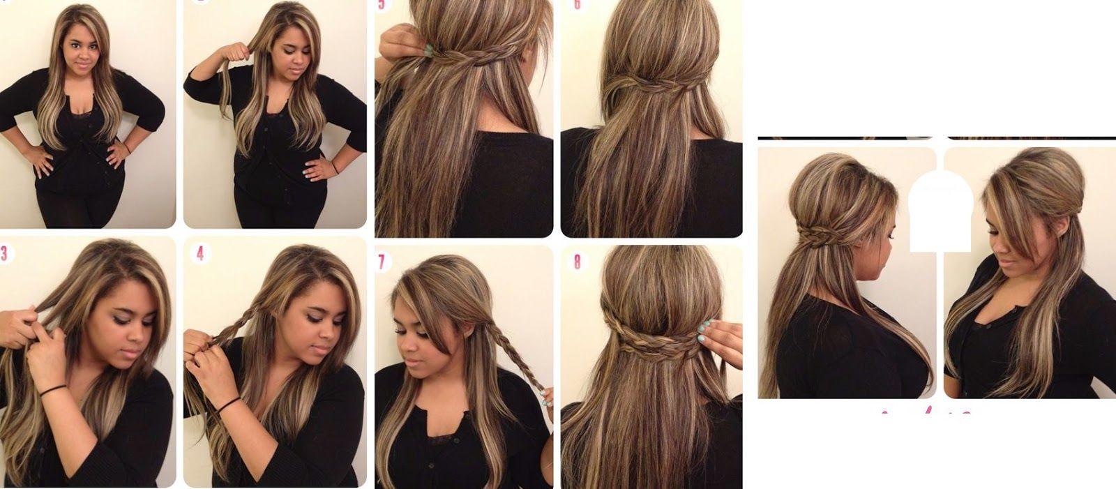 peinados paso a paso para gorditas