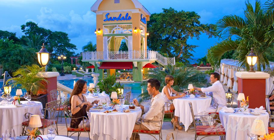 Sandals Grand Riveria, Jamaica In my top 2 vacation spots.  Wonderful service, excellent facilities, great golf, nice weather.