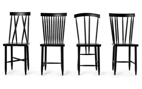 Family chairs by Swedish Lina Nordqvist for Design House Stockholm.